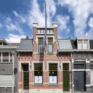Tilburg, renovatie voorgevel woonhuis