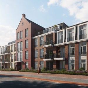 Ontwerpstudie nieuwbouw 35 appartementen