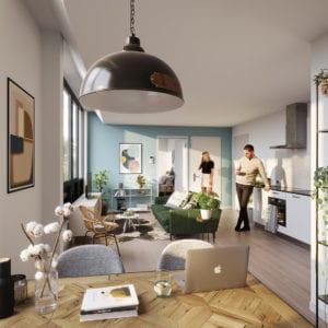 """Transformatie Amsterdam, 132 appartementen """"Trinity"""""""